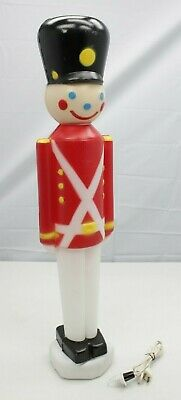 "EMPIRE 30"" Toy Soldier Nutcracker Christmas Blow Mold"