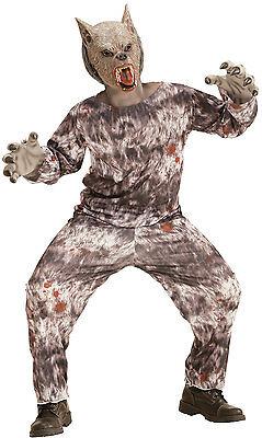 m für Kinder NEU - Jungen Karneval Fasching Verkleidung Kostü (Werwolf Kostüme Kinder)