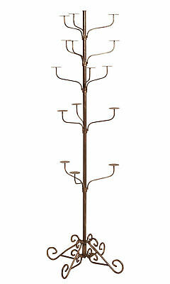 Hat Display Rack Boutique 5-tier Millinery Floor Stand Bronze Finish Retail 72