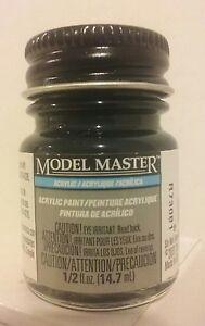 Testors Model Master Acrylic paint 4888, Engine Black  (Flat)