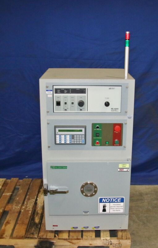 (1) Used  Plasma Cleaning System w/ Advanced Energy PE-1000 AC Plasma Power Sour