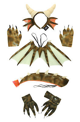 Full Dragon Costume Bundle for Adults & - Dragon Costume For Kids