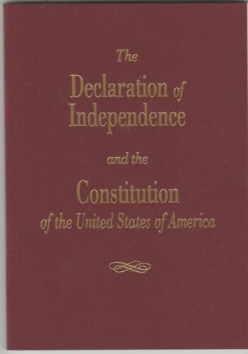 Declaration Of Independence And The Constitution Of The United States Ships Free