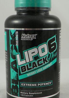 120 Kapseln Fett (LIPO 6 BLACK HERS 120 Kapseln Diät Fatburner Fettburner Fettabbau für die FRAU)