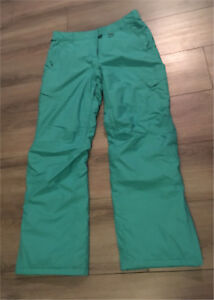 Teal/Minty Coloured Women's Snowpants