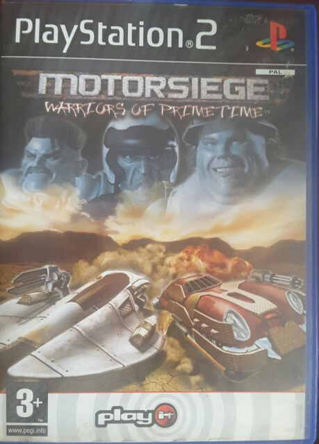 Motorsiege: Warriors Of Primetime (Sony PlayStation 2, 2003) - European Version