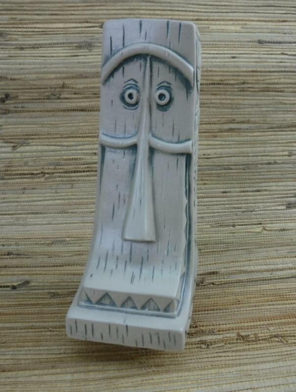 Tiki Mug Whittle by Muntiki Imports & Jeremy Spears Teal Cartoon Face Disney