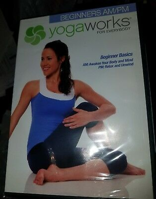 Yogaworks For Everybody Beginners Am Pm Workout  Dvd  New And Sealed