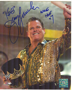 WWE-JERRY-The-King-LAWLER-Signed-8x10