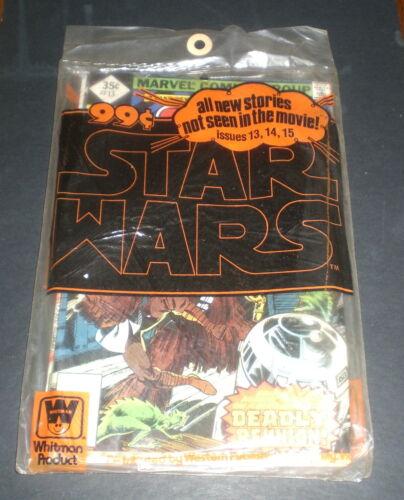3 STAR WARS COMIC BOOKS WHITMAN BAGGED  - 13 14 15