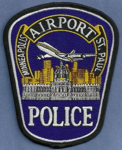 MINNEAPOLIS ST. PAUL MINNESOTA INTERNATIONAL AIRPORT POLICE SHOULDER PATCH