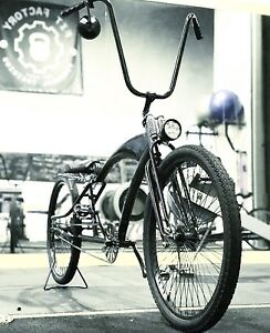 1-Off Custom frame Low Rider Bicycle - All Black - Very Cool Hurstville Hurstville Area Preview