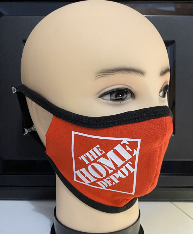 THE HOME DEPOT ESSENTIAL WORKERS HEAVY DUTY FACE MASK
