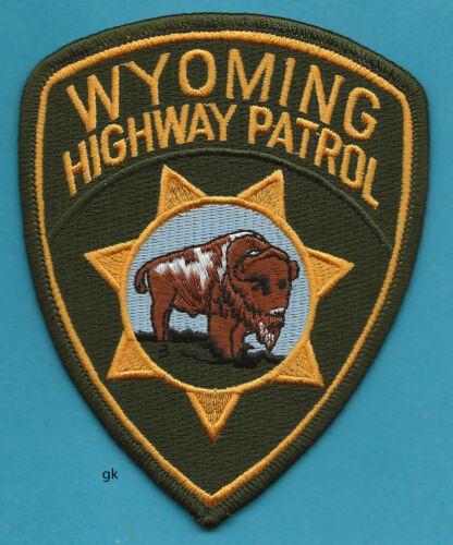 WYOMING HIGHWAY PATROL POLICE SHOULDER PATCH