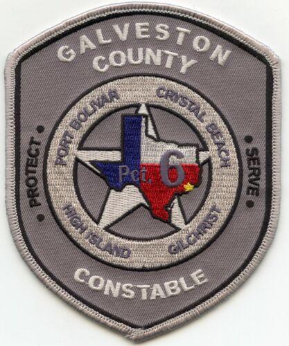 GALVESTON COUNTY TEXAS TX Precinct 6 CONSTABLE police PATCH