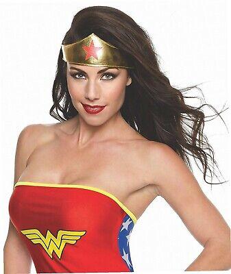 Rubie's offizielles Wonder-Woman-Kostümmit Diadem, für Erwachsene (Offizielle Wonder Woman Kostüm)