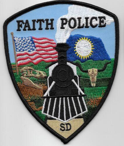 Scenic Train patch Faith Police State South Dakota