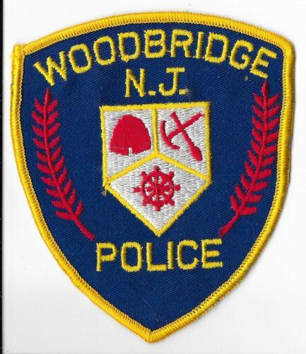 Woodbridge Police Department, New Jersey Shoulder Patch