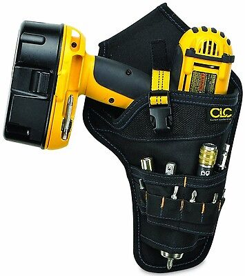 Best Poly Drill Electric Cordless Holster Holder w Tool Belt Storage Bag Pockets