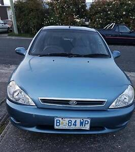 2002 Kia Rio Hatchback Claremont Glenorchy Area Preview