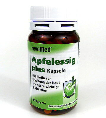Apfelessig plus 4 - 90 Kapseln revoMed  Apfelessigkapseln ()