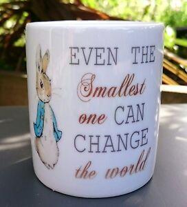 Peter Rabbit Ceramic Money Box - Personalised - New