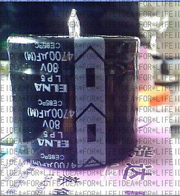 4pcs Japan Elna Lp5 4700uf 80v Audio Capacitor 30x35mm Ce 85 E116 Yx