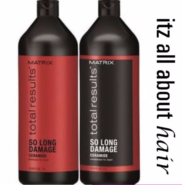 Matrix Total Results So Long Damage Repair Shampoo and Conditioner 1 Litre Duo