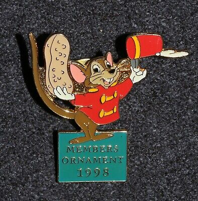 Disney Pin WDCC Dumbo Timothy Mouse Ornament Commemorative Pin 1998