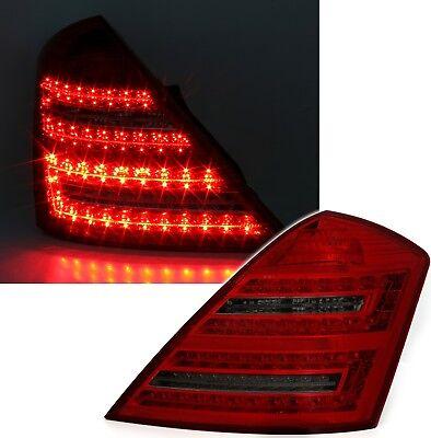 LED Rückleuchten Set für Mercedes W221 S-Klasse in Rot Smoke Heckleuchten 961005