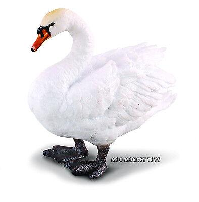 MUTE SWAN CollectA # 88211 Farm Animal Collectible Toy Replica Bird NWT