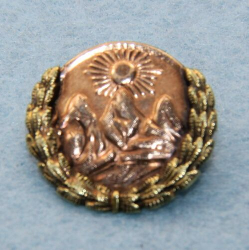 Vintage 10K Rose & Yellow Gold Past Chief Pythian Sisters Pin. NO. 26 Dated 1926