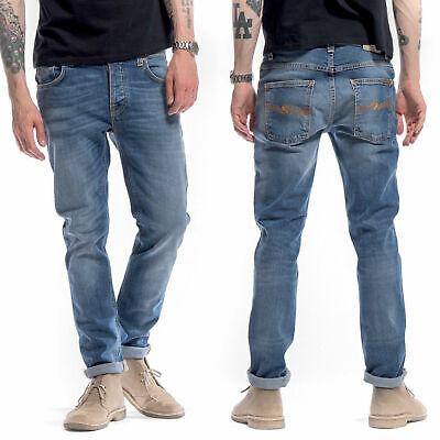 30/32 W30 L32 Nudie Jeans Grim Tim best coast blues summer slim skinny (Best Black Denim Skinny Jeans)