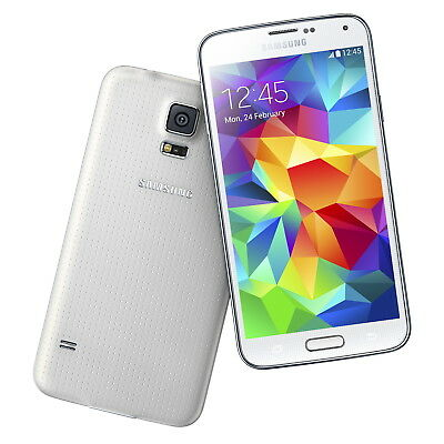 NEW Samsung Galaxy S5 SM-G900V White Verizon Smartphone GSM Factory...