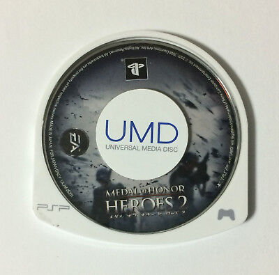 USED PSP Disc Only Medal of Honor Heroes 2 JAPAN Sony PlayStation Portable game