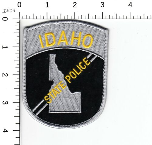 IDAHO STATE POLICE SHOULDER PATCH ID