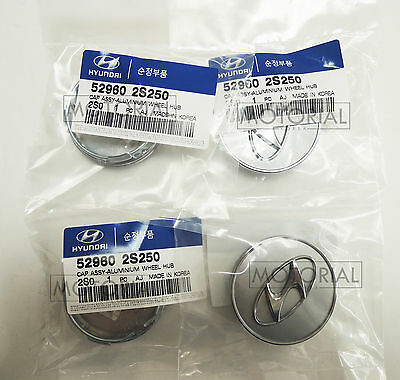 HYUNDAI TUCSON 2010-2015 Genuine OEM Wheel Center Cap 4Pcs 1Set