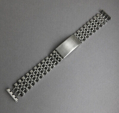 JAEGER LECOULTRE BEADS OF RICE 18mm Watch bracelet for Vintage or Modern Watch