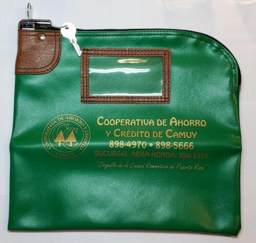 VTG BANK DEPOSIT BAG / COOPERATIVA DE AHORRO Y CREDITO DE CAMUY / PUERTO RICO
