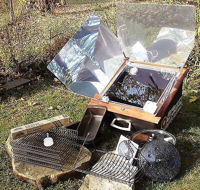 All American Sun Oven & Dehydrating & Preparedness Package Portable Solar Oven