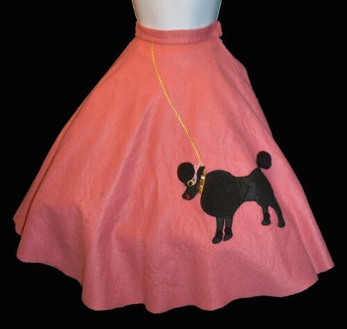 True Vintage Pink Felt Child