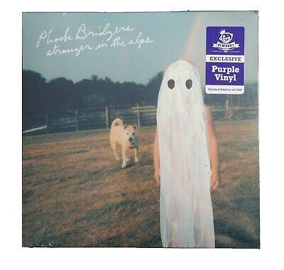 Phoebe Bridgers LP record Stranger In The Alps purple colored vinyl 2019 Sealed