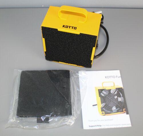 Kotto Fume Extractor for Smolder Gun Fan Steel New [GS 5]