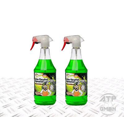 2 x 1L ALU-TEUFEL SPEZIAL Felgenreiniger GRÜN 2 Liter / 2L TUGA-CHEMIE