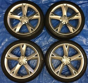 """2014 Audi A5 / S5 OEM 19"""" Wheels & Tires *Amazing Condition*"""