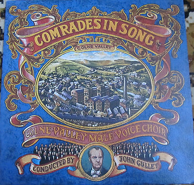 COLNE VALLEY MALE VOICE CHOIR COMRADES IN SONG segunda mano  Embacar hacia Argentina