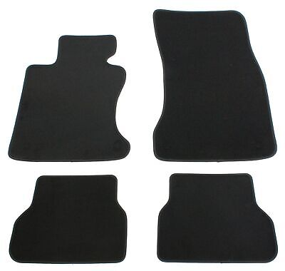 Fußmatten E60 E61 M5 BMW 5erOriginal Qualität Velours 4-teilig grau Neu