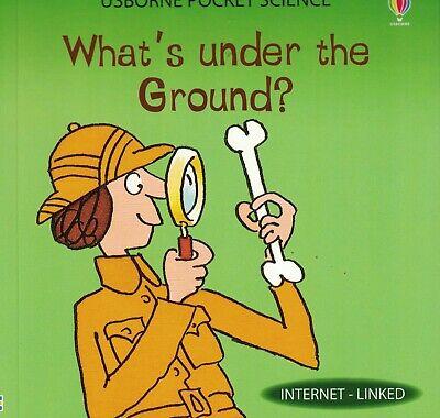 CHILDREN'S BOOK: 'USBORNE POCKET SCIENCE': WHAT'S UNDER THE GROUND?