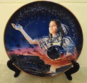 Indian Maiden Plates, Franklin Mint, Royal Doulton Nollamara Stirling Area Preview