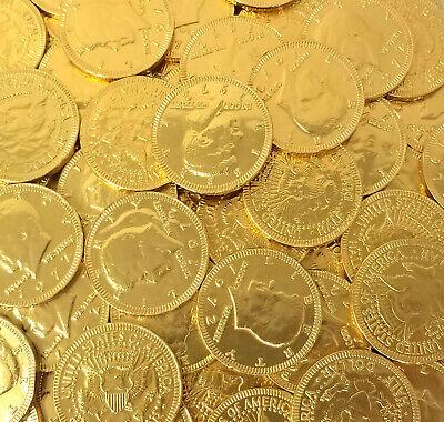 Gold Coins Milk Chocolate Candy, Bulk Pack - Bulk Chocolate Coins